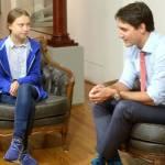 Thủ tướng Canada bị lừa nói chuyện điện thoại với kẻ giả danh Greta Thunberg