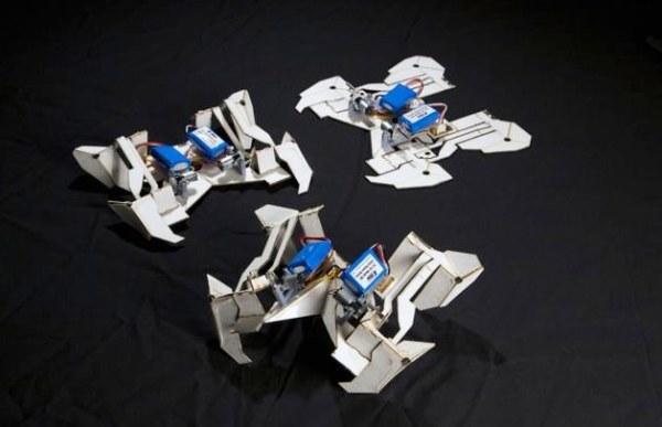Researchers make cheap robots that assemble themselves ...