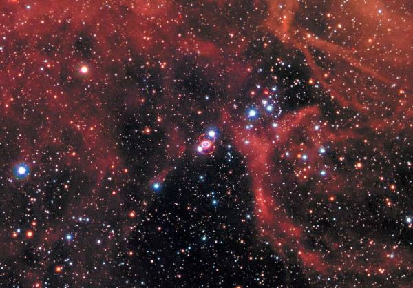 Supernova 1987A Blast Wave Still Visible After 30 Years ...