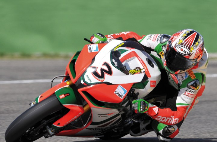 Biaggi caught with illegal bike components