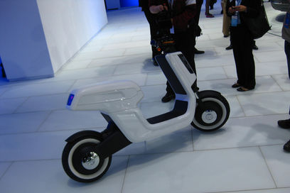An electric scooter from VW?
