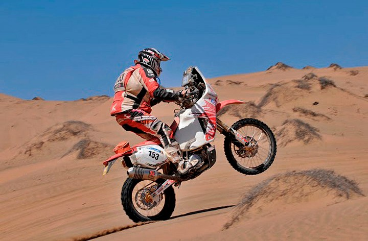 Canadian abroad: Patrick Trahan vs. the Merzouga Rally