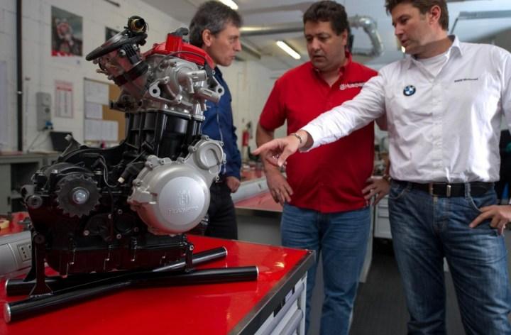 Husqvarna motor gets teaser video