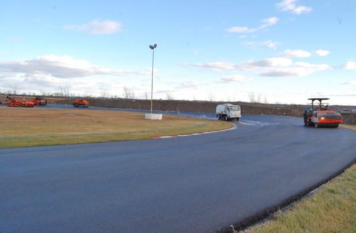 Autodrome St-Eustache completely resurfaced