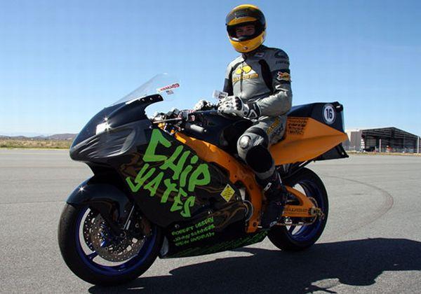Pikes Peak showdown: Chip Yates to race again