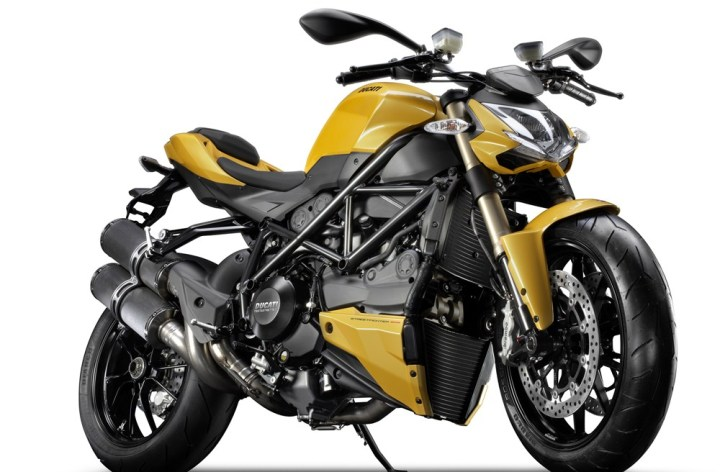 Check out Ducati's 848 Streetfighter