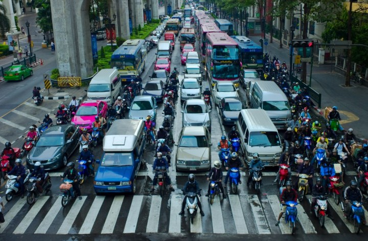 Motorcycles ease traffic congestion: study