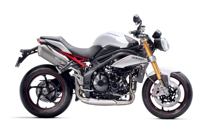 … and a new Speed Triple R and McQueen Bonnie