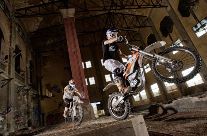 Electric motorcycles at Milan