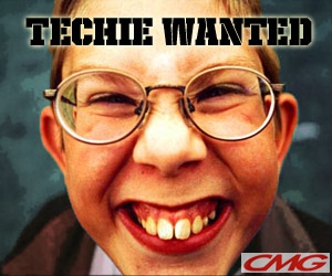 Techie wanted