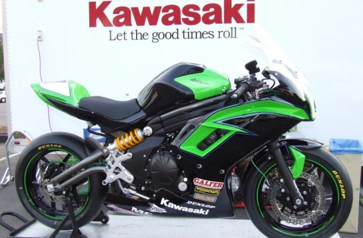 Kawasaki builds Ninja 650 race concept