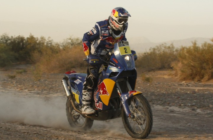 Cyril Despres wins Dakar rally