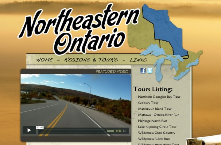 Ride the North, as in Ontario