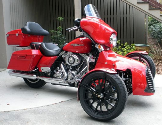 Too Kool Cycles develops Harley trike kit
