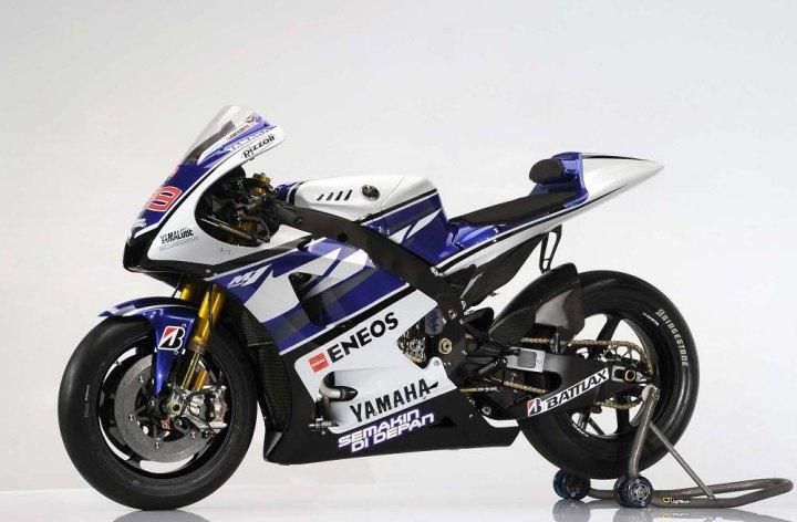 Yamaha dévoile les détails de leur MotoGP