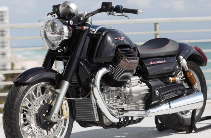 Moto Guzzi officially unveils their 2013 California 1400
