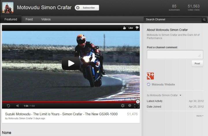 New GSX-R 1000 video!