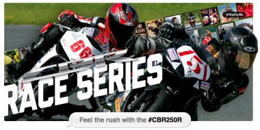The CBR125 series is gone for 2012; Honda's put together a CBR250R spec series instead.