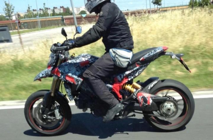 New Ducati spy shot