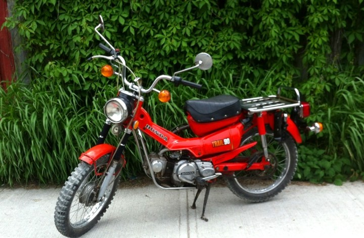 Special: The Past Due Review – Honda CT90