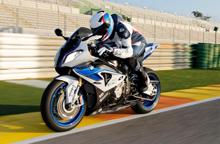 BMW HP4 gets cornering ABS