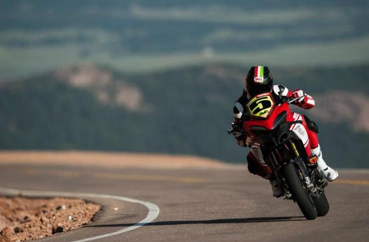 Watch Ducati's Carlin Dunne Pikes Peak 2012 video