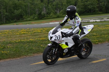 Jodi Christie will be defending his CSBK sport bike crown when the Hindle-sponsored series restarts in June.