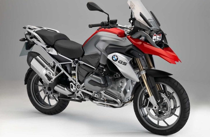 New BMW R1200GS at Intermot