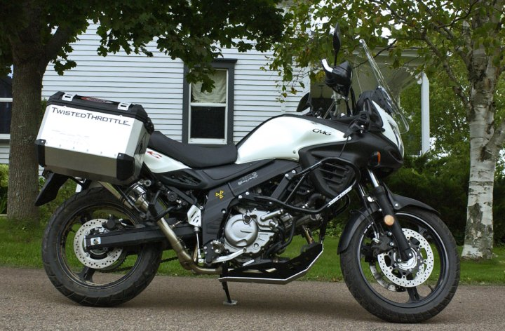 Long Termer: V-Strom 650 – Part 2 (the farkels)