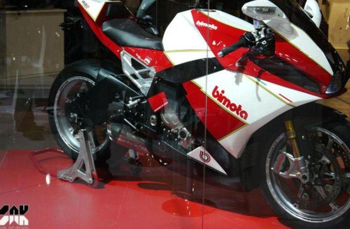 EICMA 2012: Bimota unveils BB2 concept