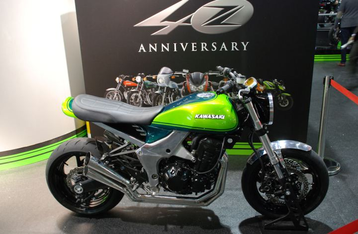 Kawasaki Working On New Retro Naked