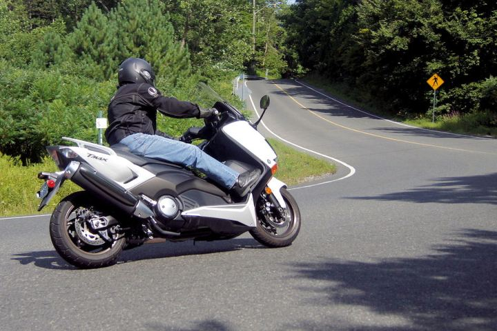 Yamaha has been selling the T Max in Europe ever since 2001. It remained mainly unchanged up to its 2012 update.