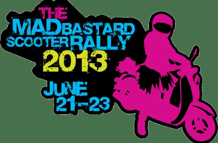 Mad Bastard Scooter Rally 2013