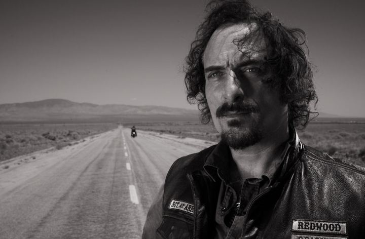 Riding with Kim Coates