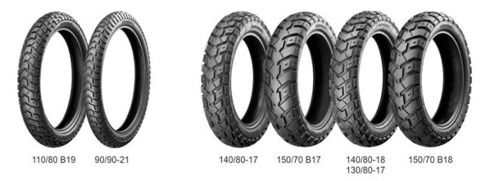 Heidenau Scout K60s have impressed on both dirt and road so they seemed like the logical choice. Pic: Heidenau Tires