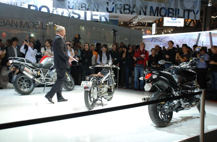 EICMA 2012: BMW show mostly repeats