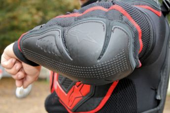 The Bionic jacket has beefy elbow protection. Photo: Rob Harris