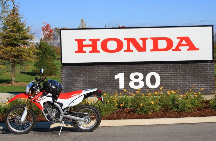 Several Honda CRF250L mods available