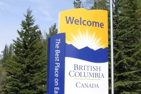 British Columbia speeding ticket cost