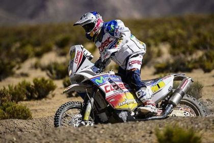 Chaleco Lopez has been having a great race at Dakar so far in 2013.