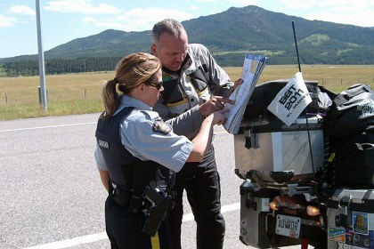 While government drones proved less than useful for the most part, police departments across the country were more than happy to provide the information we needed. Photo: English Matt