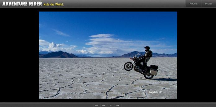 adventure motorcycle SUV