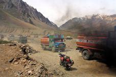 Mountain traffic, Himalayas