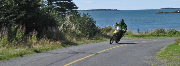 If you want to ride the Maritimes or Quebec, Whitehorse Press has got a book you should check out. Photo: Zac Kurylyk