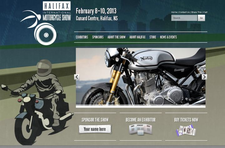 Halifax and Winnipeg motorcycle shows this weekend