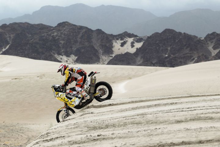 Want to race Dakar in 2014? Talk to Patrick Beaule. Photo; M:aindru