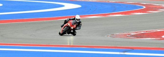 Ducati Panigale R test