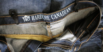 The Joe Rocket Hardcore Canadian jeans weren't as nice as the ones from Draggin' or Alpinestars, but they were also cooler to wear.