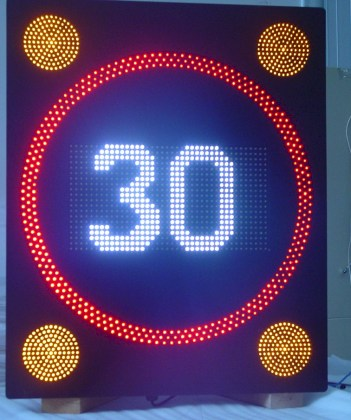 A variable speed limit like this can't be all that bad, if it means you can escape traffic tickets.
