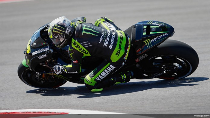 Crutchlow had an impressive race to get fourth